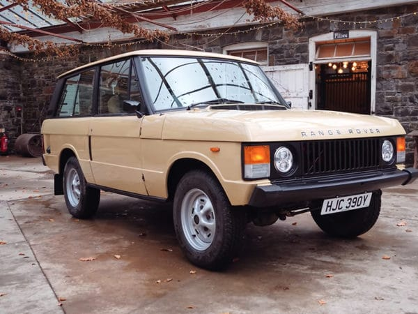 1982 Range Rover - Electric Classic Cars conversion with Robert
