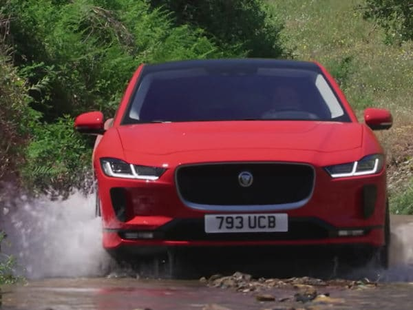 Jaguar I-PACE - put through its paces in Portugal with Robert Llewellyn