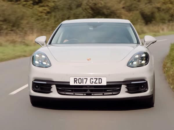 Porsche Panamera 4-e Hybrid - smoothness personified with Jonny Smith
