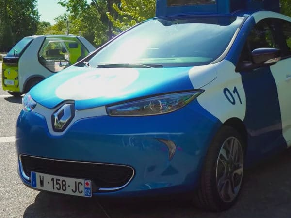 Renault Zoe fully autonomous vehicle