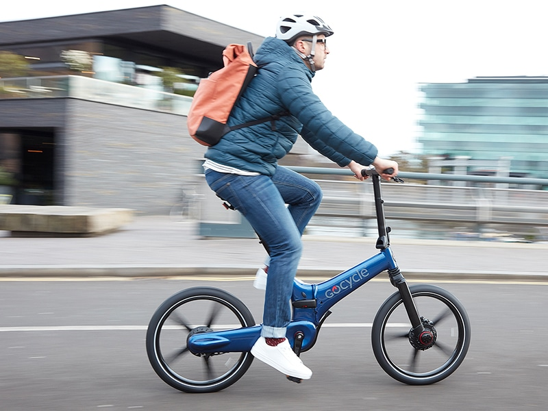 The fast-folding GX is the latest urban e-bike from Gocycle