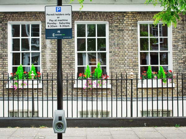 On-street charging points should minimise visual impact to the existing streetscape