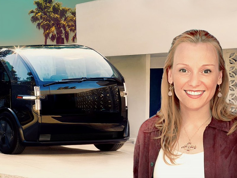 Canoo - Chelsea Sexton heads to check out this subscription only electric car.