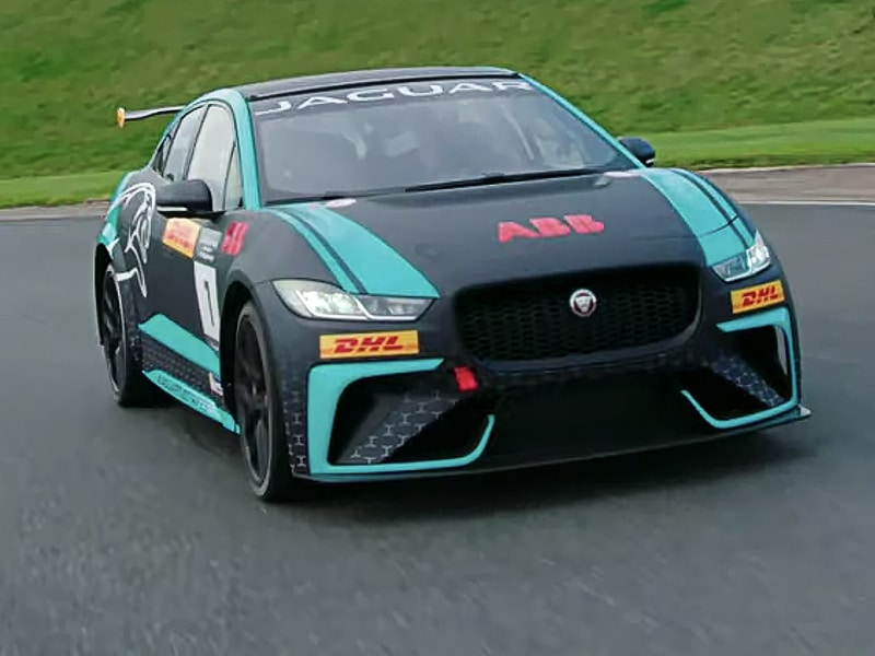 Jaguar eTrophy I-PACE - Ahead of the race season, the eTrophy Jag is put through its paces by Jonny Smith