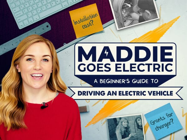 Maddie Goes Electric - Episode 3: Installing an electric car charger at home