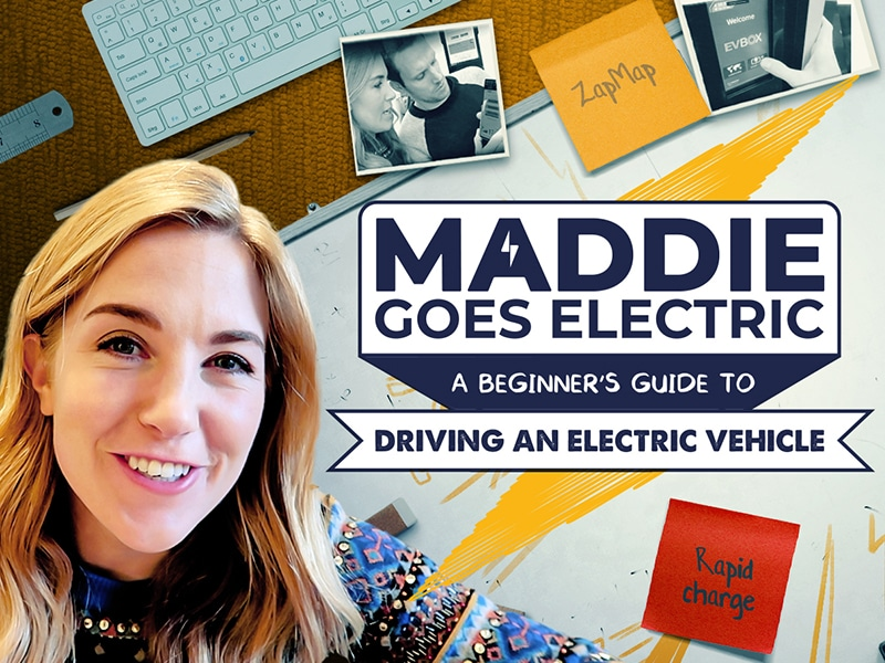 Maddie Goes electric Episode 5: Long journeys in an electric car