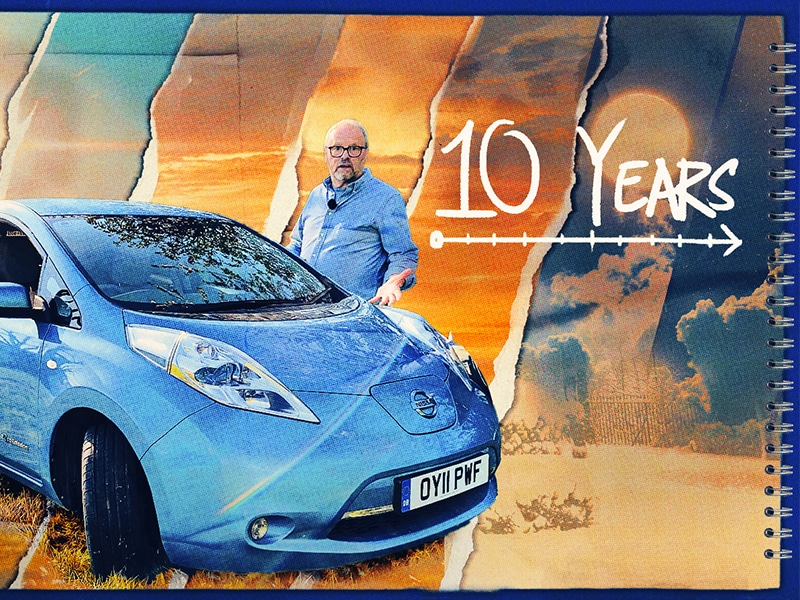 Nissan Leaf review after 10 years