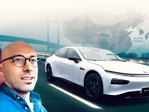 Xpeng P7 1st Drive in Shanghai - Elliot Richards Fully Charged