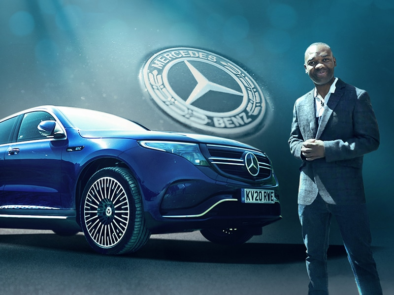 Mercedes Benz EQC – Rory Reid First Drive - Fully Charged