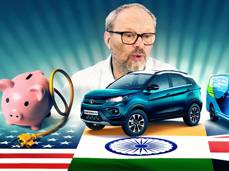 Energy Hogs, Electric Vans and Tata's Nexon - Robert llewellyn Fully Charged News