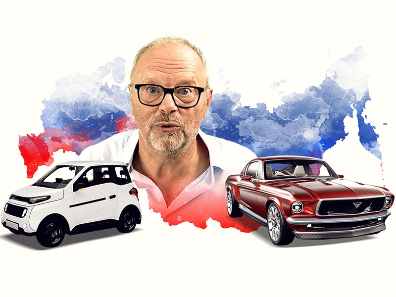 Russian EVs & 1 Million Chargers - Robert Llewellyn fully Charged News