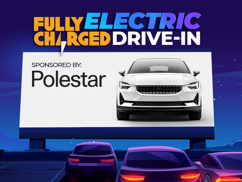 Fully Charged Electric Drive-In Cinema, in association with Polesta