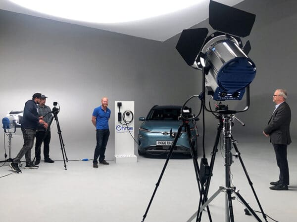 Fully Filmed – behind the scenes – smart charging with Ohme - Fully Charged Plus