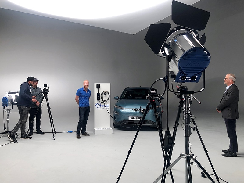 Fully Filmed – behind the scenes – smart charging with Ohme