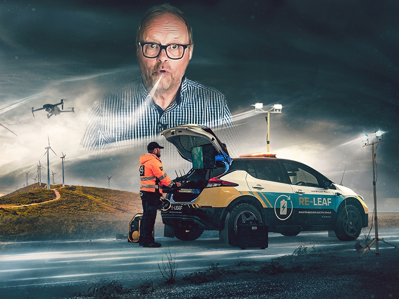Massive Wind, Naughty Hybrids & A Beefy LEAF - Robert Llewellyn Fully charged