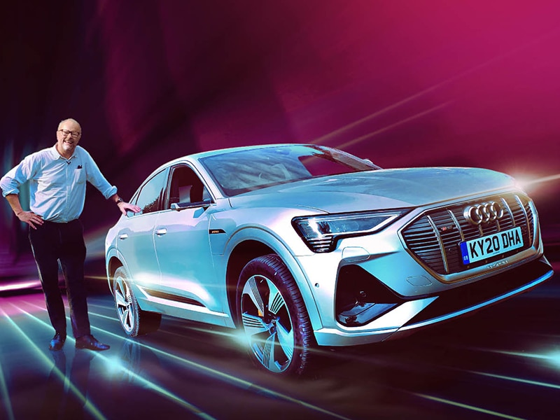 Audi E-Tron 55 Quattro Sportback: Can it compete with the Tesla Model X? Robert Llewellyn Fully Charged
