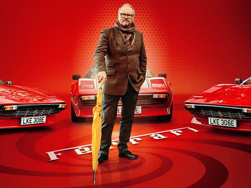 Electric Ferrari – time to give classic cars a new lease of life? Robert Llewellyn Fully Charged
