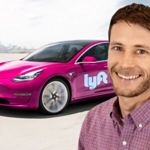 Sam Arons from Lyft talks to Robert about their sustainability efforts - Fully Charged Podcast 82