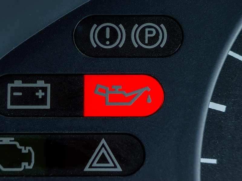 My first drive in a combustion car was going swimmingly – until the warning light flashed