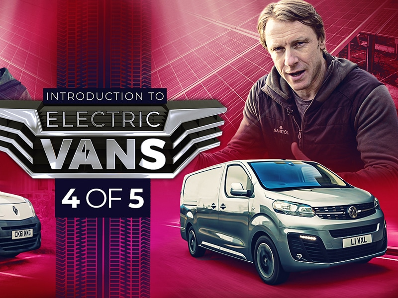 Episode 4: Solarsense or Vauxhall Vivaro-E - Andy Torbet Fully Charged