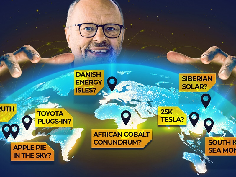 $25k Tesla, Cobalt Conundrum & Siberian Solar - Robert Llewellyn Fully Charged News