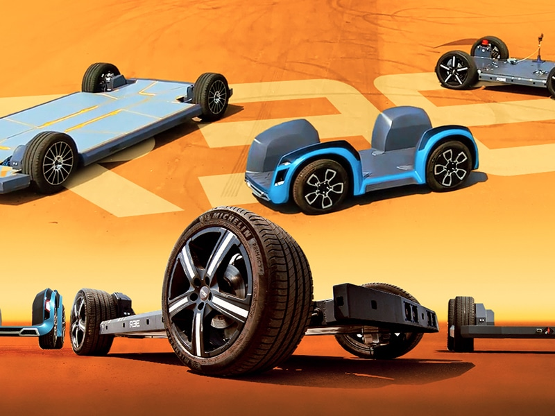 REE AUTO European Exclusive – reinventing the wheel for the world's automakers - Robert Llewellyn Fully Charged