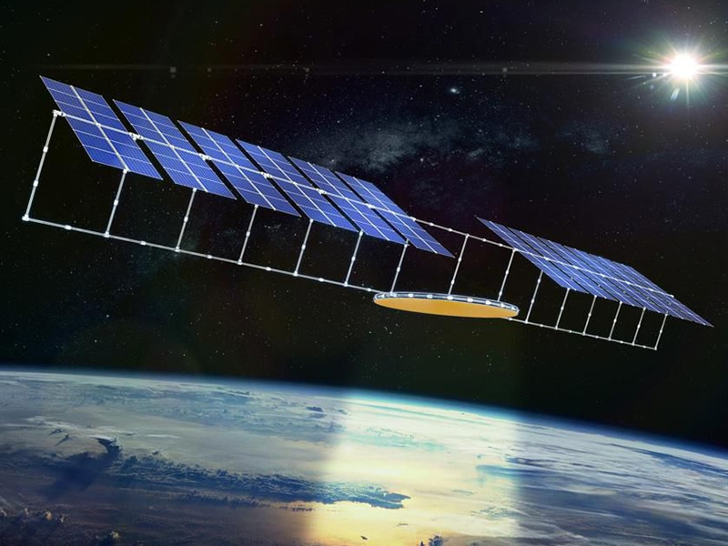 Solar Space. Out of this world, or a realistic option with Helen Czerski