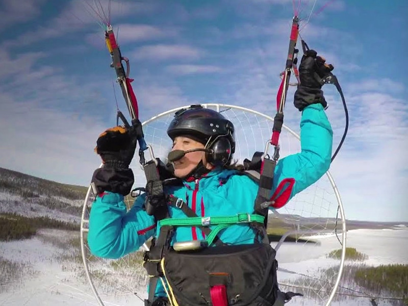 Adventures with Sacha Dench – 'the human swan'
