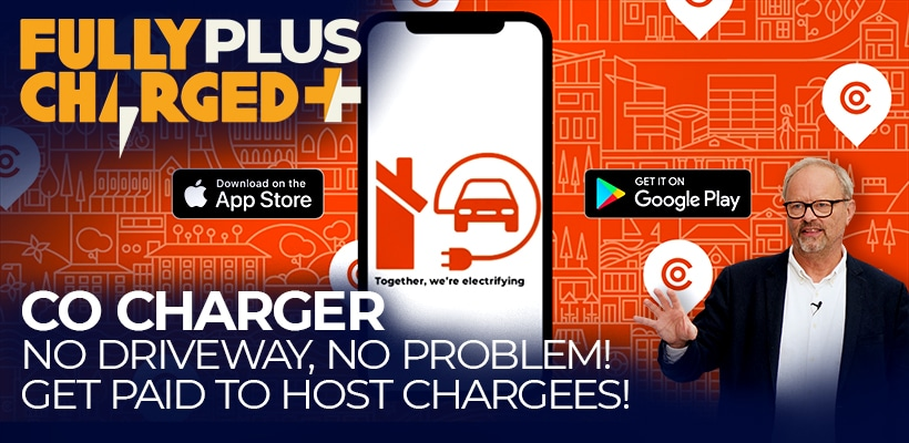 Co-Charger: No driveway, no problem! Get paid to host chargees!