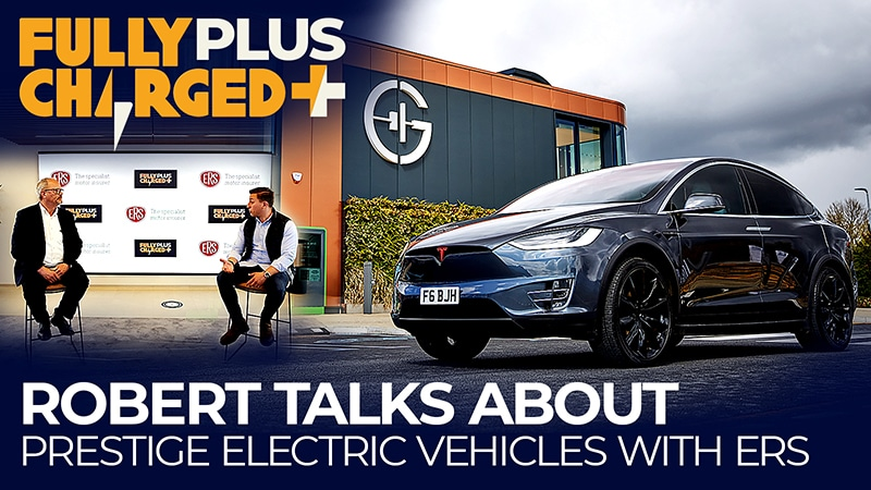 Robert talks about prestige electric vehicles with ERS