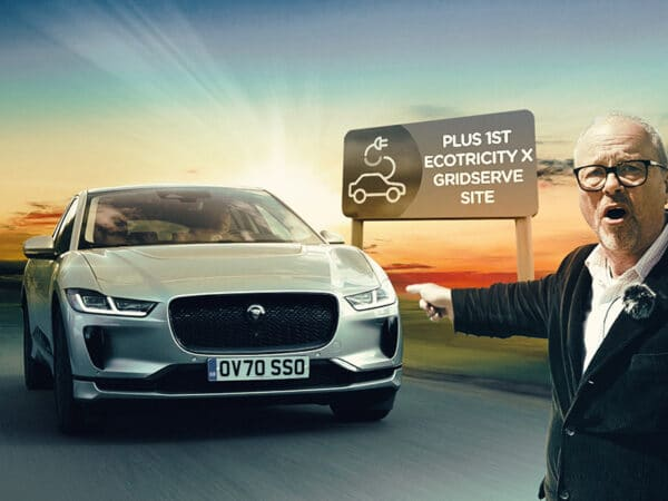 Updated JAGUAR I-PACE AND ECOTRICITY x GRIDSERVE's 1st Site