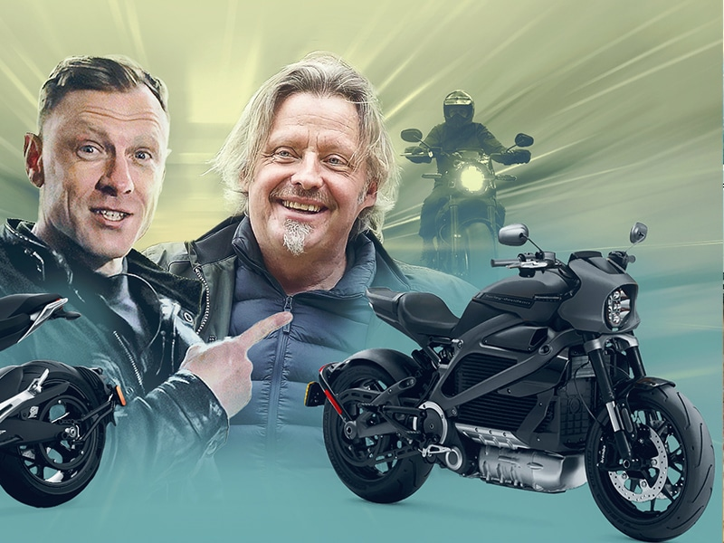 HARLEY-DAVIDSON LIVEWIRE & ZERO SR/F featuring CHARLEY BOORMAN - Fully Charged