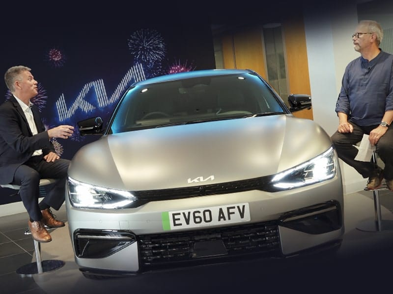 Exclusive Interview with KIA – Robert talks to Paul Philpott about EV6 & an electric future