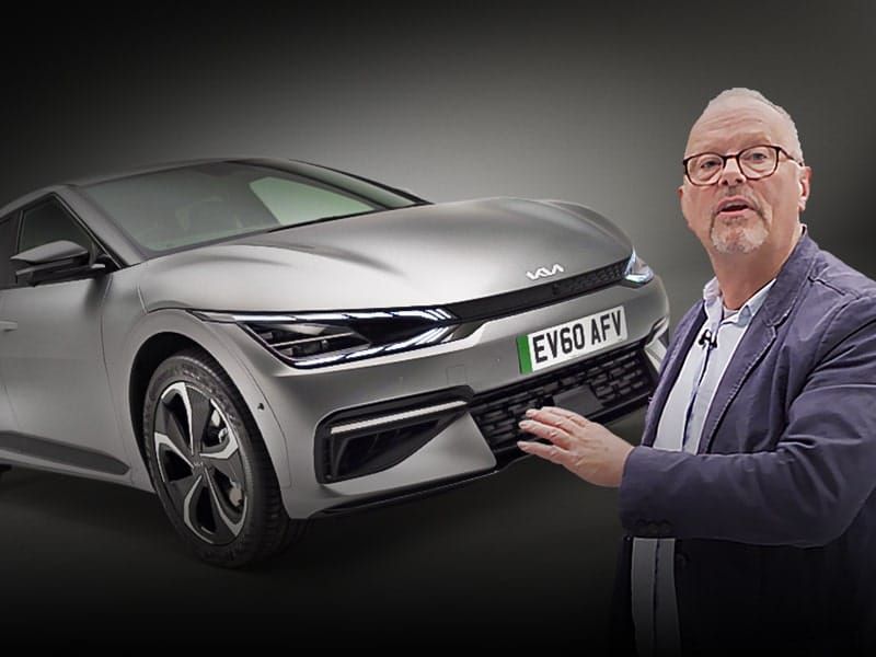 KIA EV6 First Impressions – Robert gets up close & personal with the EV6 - Robert Llewellyn Fully Charged Plus