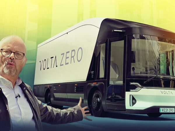VOLTA ZERO – Could electric trucks take over our cities? Robert Llewellyn Fully Charged