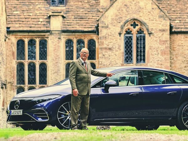 The POSHEST electric car ever? Mercedes EQS 450+ review