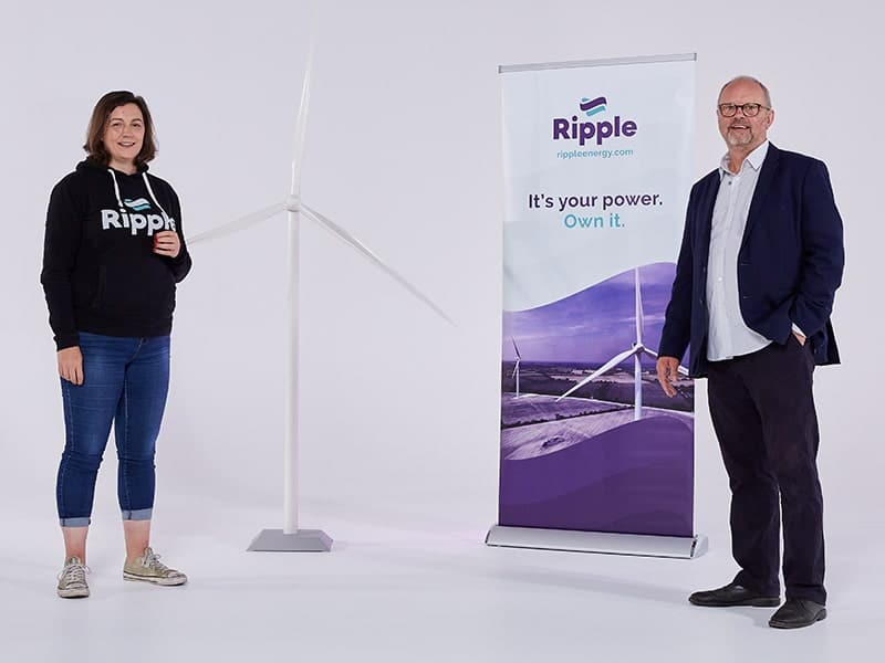 RIPPLE ENERGY – Share a slice of the wind revolution