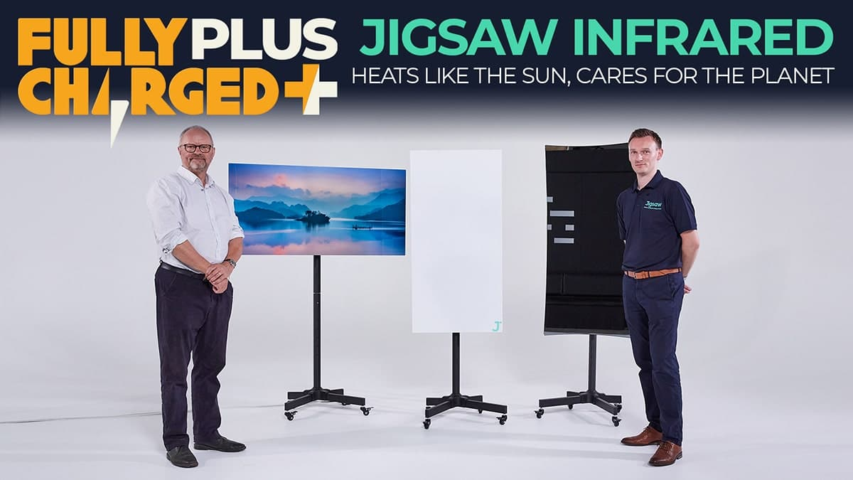 Jigsaw Infrared: Heats like the sun, cares for the planet